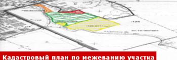 Кадастровый межевой план на земельный участок